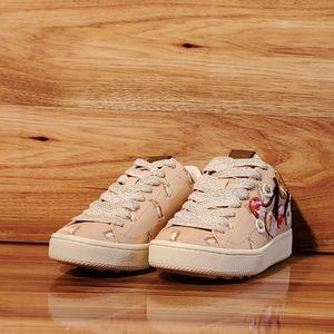 Coach Women's Cherry Pink Fashion Sneakers Shoes
